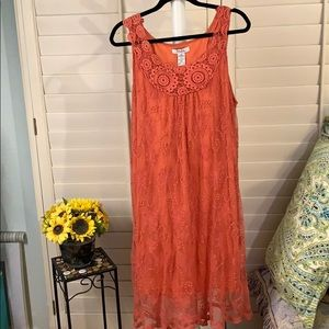 Lovely lacy ladies summer dress. Size 2X
